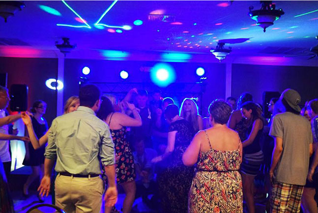 Lee's Summit Dance Floor with Lights
