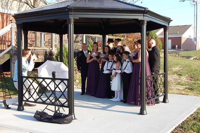 Lee's Summit Gazebo Wedding